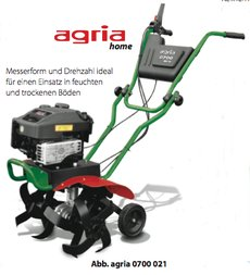 Motorhacken: agria - 0700 MH 50