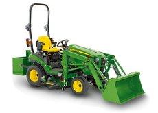 Kompakttraktoren: John Deere - 1026 R