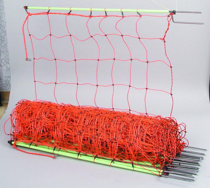 Netze:                     Patura - 109200 Schafsnetz 90cm hoch, mit Doppelspitze, 50m
