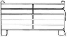 Weidezauntechnik: Patura - 10 Stück 310400 Sonder Panel 3,00 x 1,70 Mtr.