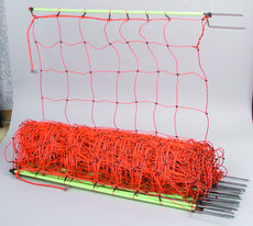Netze: Patura - 110600 Schafsnetz 106cm hoch, mit Doppelspitze, 50m