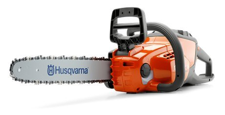 "Akkumotorsägen:  Husqvarna - 120i (12"") inkl. Akku und Ladegerät"