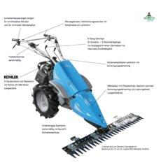 Gebrauchte  Balkenmäher: Agria - Balkenmäher Agria 5300 (gebraucht)