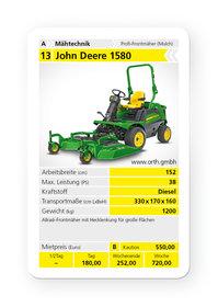 Mieten Geländemäher: John Deere - 1580 (mieten)