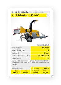 Holzhäcksler: Schliesing - 105 HX