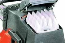 Luftfilter ermöglicht eine schnellere und leichtere Reinigung.