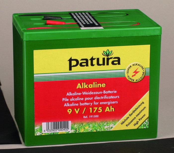 Weidezauntechnik:                     Patura - 190700 Weidezaunbatterie 9V75AH Super-Alkaline