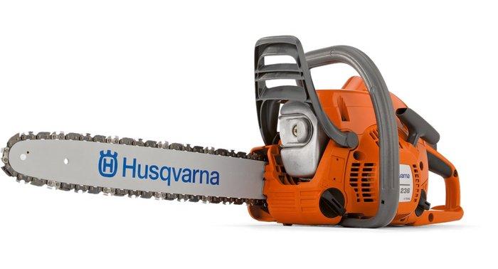 Hobbysägen:                     Husqvarna - 236 (35 cm)