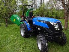 Traktoren: Solis - 26 Kompakttraktor inkl. GEO Anbauhäcksler
