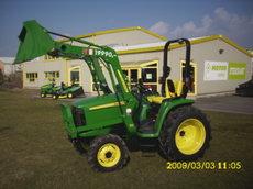 Kompakttraktoren: John Deere - 3036E