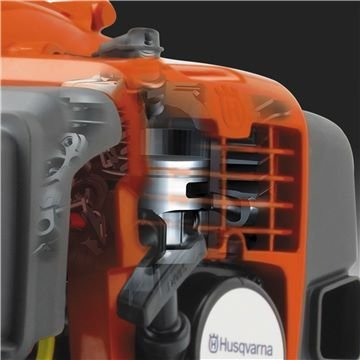 X-Torq® Motor Das X-Torq® Motorendesign reduziert schädliche Abgasemissionen um bis zu 75% und den Kraftstoffverbrauch um bis zu 20%