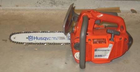 Gebrauchte                                          Profisägen:                     Husqvarna - 335 XPT 180033 (gebraucht)