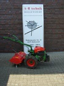 Mieten Einachsschlepper: agria - 3400 Benzin Differentialgetriebe Mietgerät (mieten)