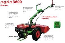 Mieten  Einachser: agria - 3600 (2+2) (mieten)
