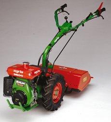 Einachsschlepper: agria - 3600 (3V/2R, Grundmaschine ohne Anbaugeräte)