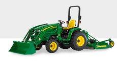Allradtraktoren: John Deere - 3520