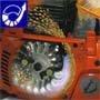 Air Injection. Zentrifugal-Luftreinigungssystem für längere Intervallzeit zwischen den Filterreinigungen, gleichmäßigeren Betrieb und weniger Verschleiß.