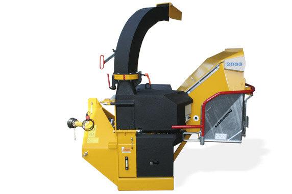 Holzhäcksler:                     Schliesing - 400 ZX