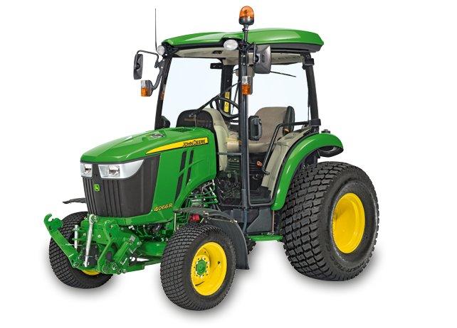 Kompakttraktoren:                     John Deere - 4066 R