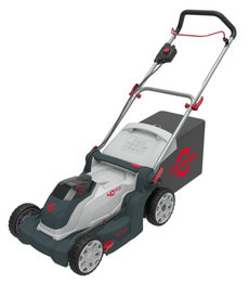 Gebrauchte  Akkurasenmäher: Husqvarna - Rider Akku (inkl.Mähdeck) (gebraucht)