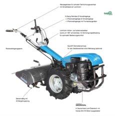 Einachsschlepper: Bertolini - 410-H-EasyCult 60