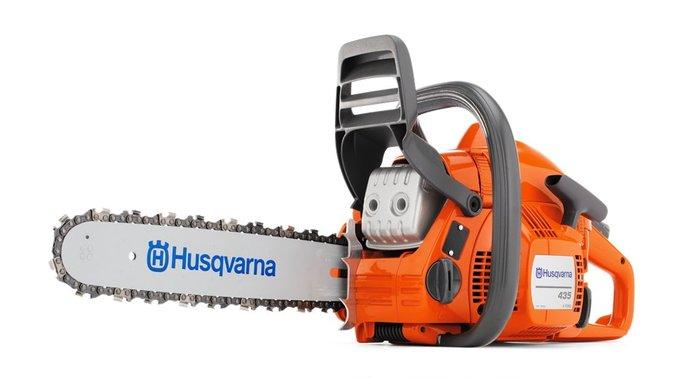 Gebrauchte                                          Motorsägen:                     Husqvarna - 435 X-Torq Motorsäge (gebraucht)