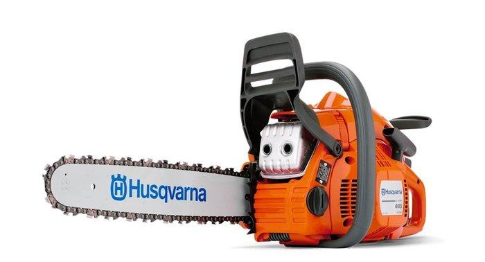 Gebrauchte                                          Motorsägen:                     Husqvarna - 445 II X-Torq - Motorsäge PERFEKTE GELEGENHEIT mit Ausstellungs-Neugerät EXZELLENT SPAREN (gebraucht)