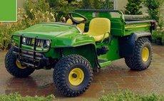 Allzwecktransporter: John Deere - 4x2 TX Turf (Benzin)