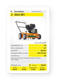 Vertikutierer: Tielbürger - tv920 (B&S Vanguard OHV mit Ölwächter)