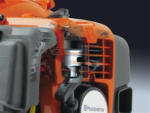 Das X-Torq® Motorendesign reduziert schädliche Abgasemissionen um bis zu 75% und den Kraftstoffverbrauch um bis zu 20%.