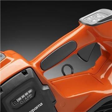 Ergonomisch geformter Griff für einen größeren Komfort und Sicherheit.