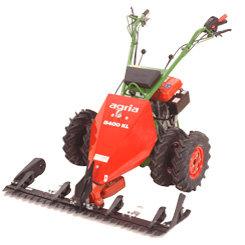 Balkenmäher:                     agria - 5400 KL B (Grundmaschine ohne Mähbalken, mit Bergsicherheitsbremse)