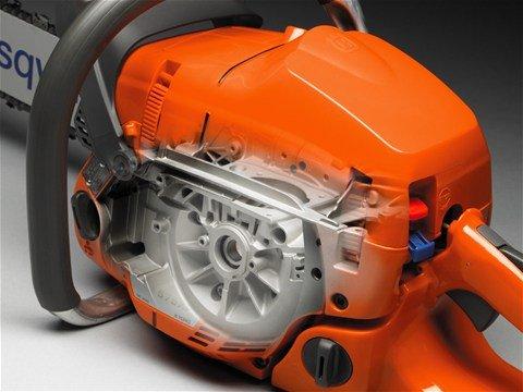 Das kräftige Kurbelgehäuse hält auch hohen Drehzahlen bei professionellen Einsätzen stand und ermöglicht eine hohe Lebensdauer.
