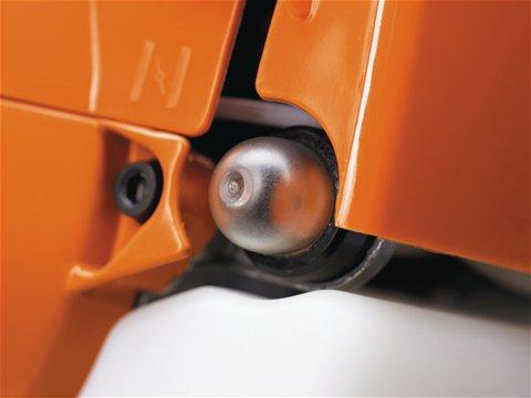 Kraftstoffpumpe für einfaches Starten.