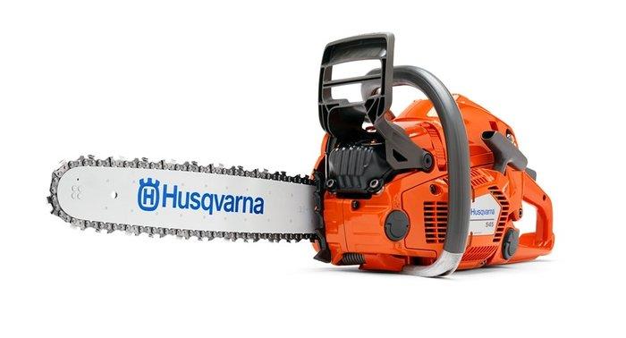 Gebrauchte                                          Motorsägen:                     Husqvarna - 545 Profi Motorsäge (gebraucht)