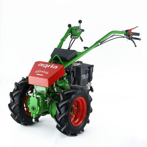 Einachsschlepper:                     Agria - 5500 KL Grizzly premium Diesel (Grundmaschine ohne Anbaugeräte)