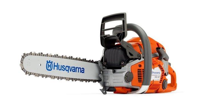 Gebrauchte                                          Motorsägen:                     Husqvarna - 550 XP - 560 XP Profi Motorsägen (gebraucht)