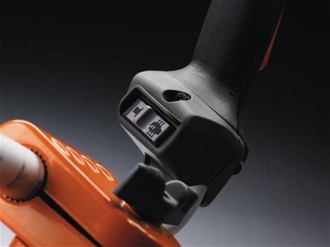 Thermostatgesteuerte Griffheizung sorgt für gesteigerten Komfort bei der Arbeit in kalter und feuchter Umgebung.