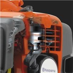 X-Torq® Motor Das X-Torq® Motorendesign reduziert schädliche Abgasemissionen um bis zu 75% und den Kraftstoffverbrauch um bis zu 20%.