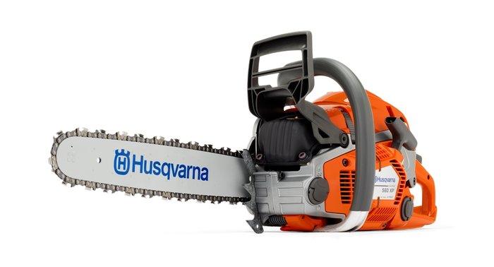 Motorsägen:                     Husqvarna - 560XP + 543XP - Profimotorsäge