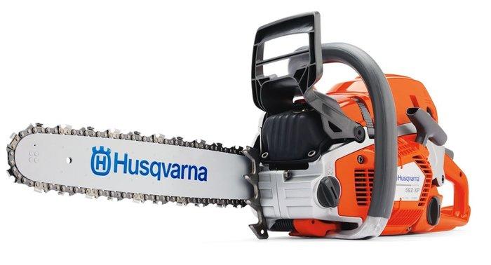 Gebrauchte                                          Motorsägen:                     Husqvarna - 560 XPG Motorsäge PERFEKTE GELEGENHEIT mit Ausstellungs-Neugerät EXZELLENT SPAREN (gebraucht)