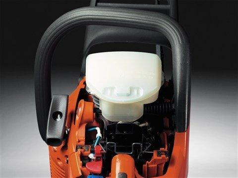 Seitliche Kettenspannung: Der seitliche Kettenspanner ermöglicht schnelles und einfaches Justieren der Kettenspannung.