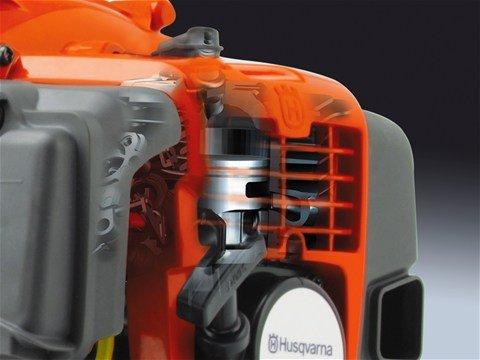 Der leistungsstarke und leicht startende X-Torq® Motor sorgt in Verbindung mit einem effektiven Lüfter für hohe Luftgeschwindigkeit und hohen Luftdurchsatz.
