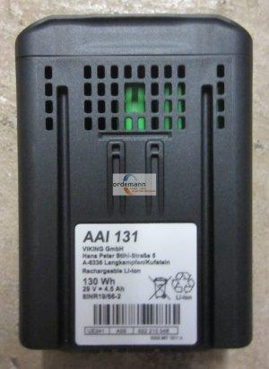 Ersatzteile:                     Viking - 6309 400 6511 - Akku Viking AAI 130 - Viking iMow MI 632 / MI 632C / MI 632P / MI 632PC