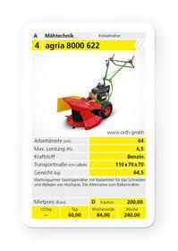 Mieten  Kreiselmäher: agria - 8000 622 (mieten)