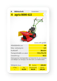 Kreiselmäher: agria - agria 8000-64