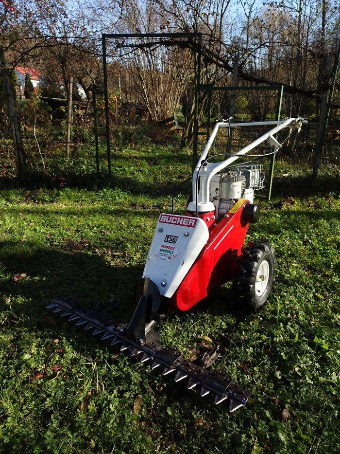 Gebrauchte                                          Einachser:                     ALKO - 875-II Easy Mow Balkenmäher 87 cm (gebraucht)