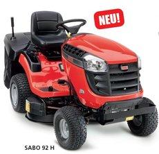 Angebote  Rasentraktoren: Sabo - 92 H (Aktionsangebot!)