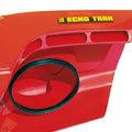 Motorhaube bedeutend leiser als andere. Dank der doppelwandigen Motorhaube reduzieren sich Motorgeräusche auf ein Minimum.