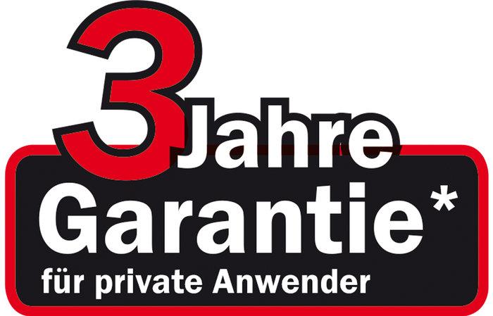 3 Jahres Garantie für private Anwender - Für alle ab dem 01.01.2015 gekauften ECHOTRAK Rasentraktoren der A-4XX Serie gewähren wir 3 Jahre Garantie bei ausschließlich privater Nutzung.